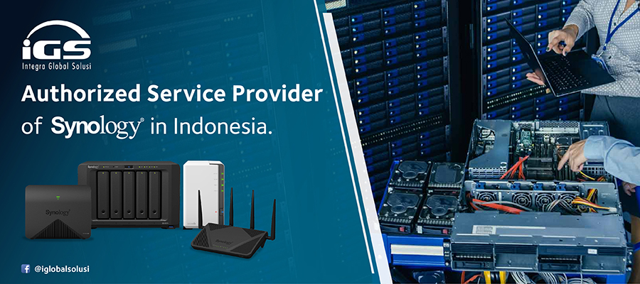 Authorized Distributor Synology, Netgear, and Volktek In