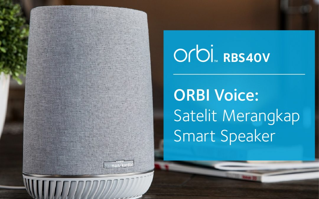 Satelit Merangkap Smart Speaker
